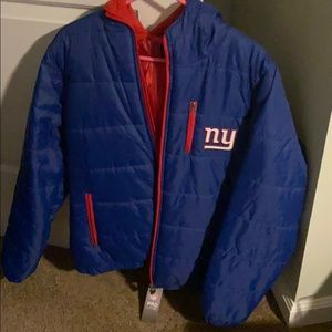 Giants polyester quilted jacket